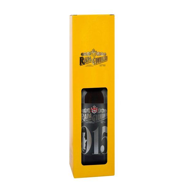 Bottiglia di liquore 015 nella scatola regalo