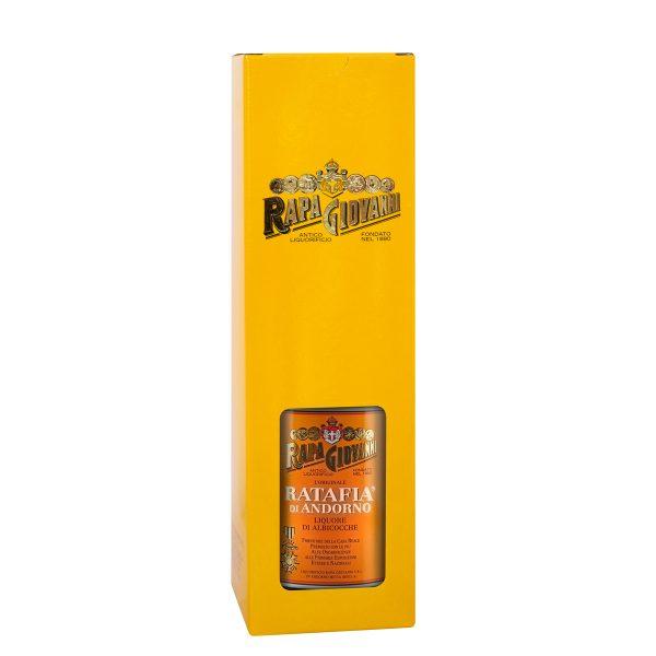 Bottiglia di Ratafà alle Albicocche in scatola singola