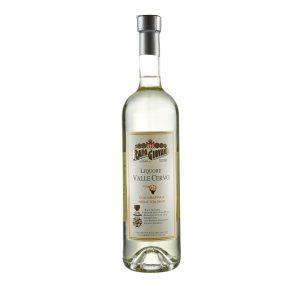 Bottiglia di Liquore Valle Cervo con Grppa e Miele Italiano