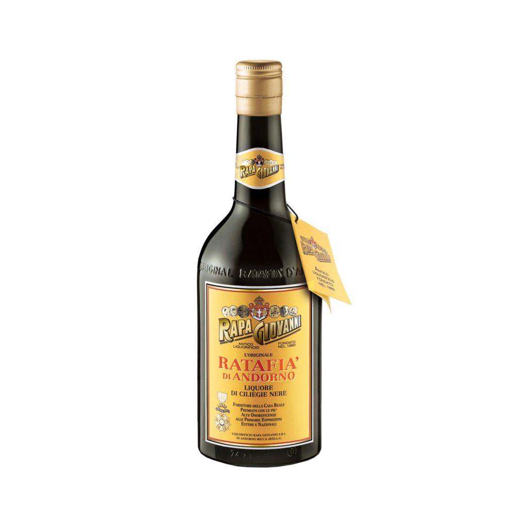 Bottiglia di Ratafià alle Ciliegie Nere