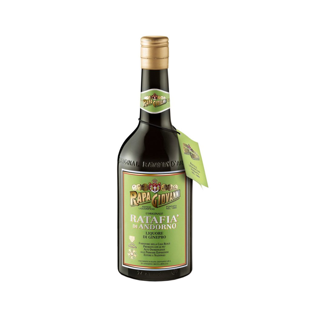 Bottiglia di Ratafià al Ginepro