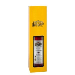Bottiglia di Liquore Valle Cervo con grappa ai mirtilli