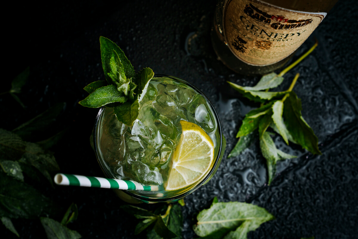 Cocktail Geppy con Genepy